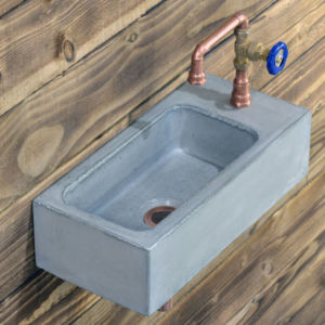 concrete basin valve