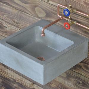 concrete brenig basin