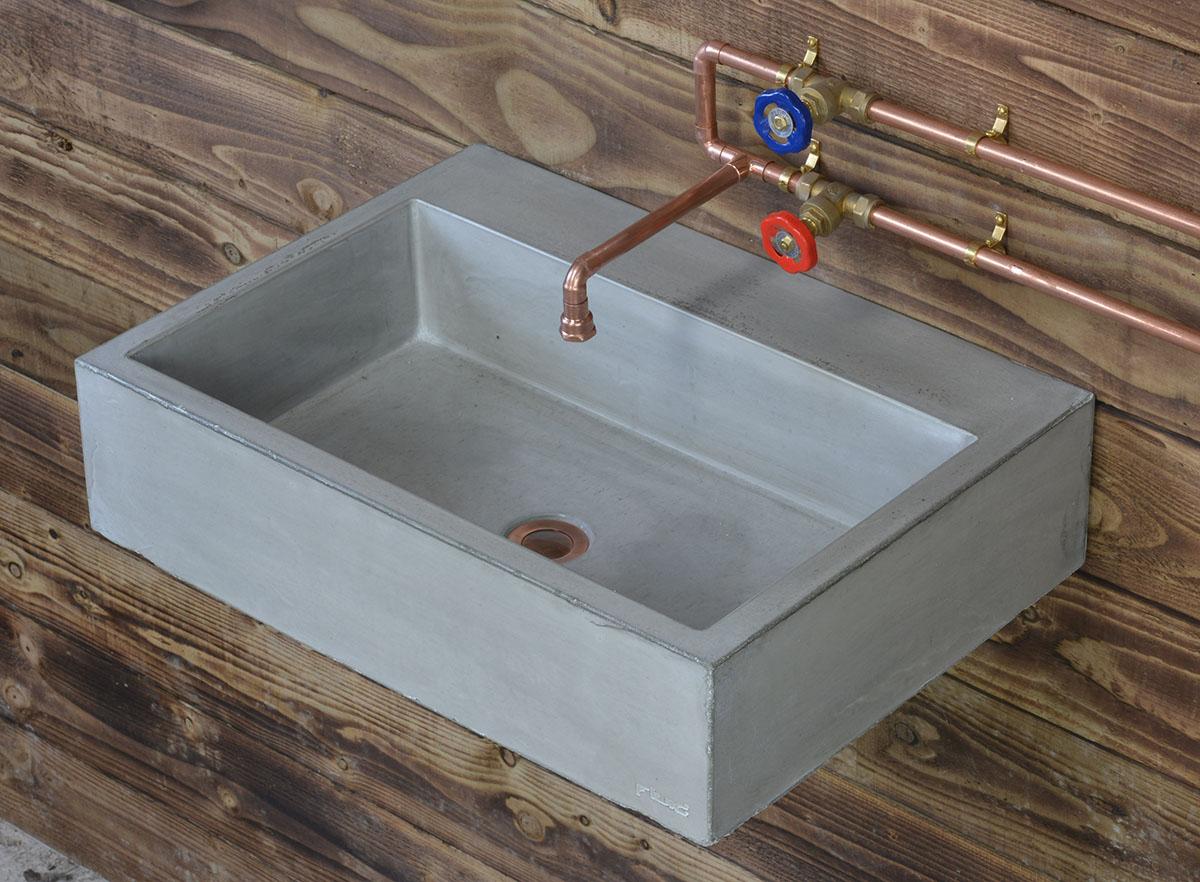 Concrete Basins Bathroom Sinks Wall Mounted Amp Vanity