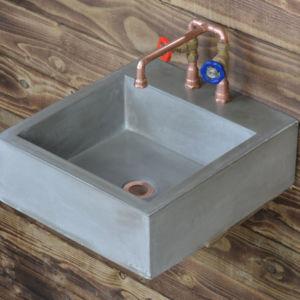 concrete basin maelog valve