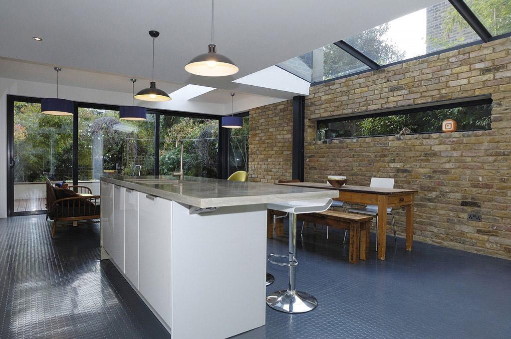 Polished Concrete Kitchen Island Countertop London