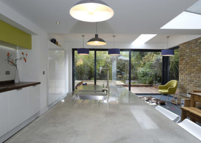 Concrete Kitchen Island London