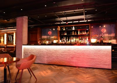 concrete bar